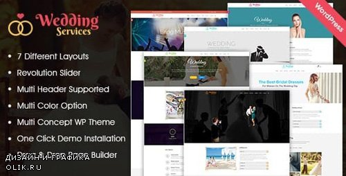 ThemeForest - Wedding Services v1.0.1 - WordPress Theme - 19502477