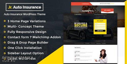 ThemeForest - Auto Insurance v1.0.1 - WordPress Theme - 19534780