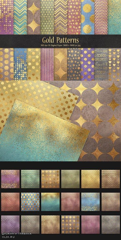 Gold Pattern & Foil Textures - 3580830