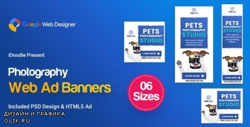 CodeCanyon - C26 - Photography Banners HTML5 - GWD & PSD - 23809742
