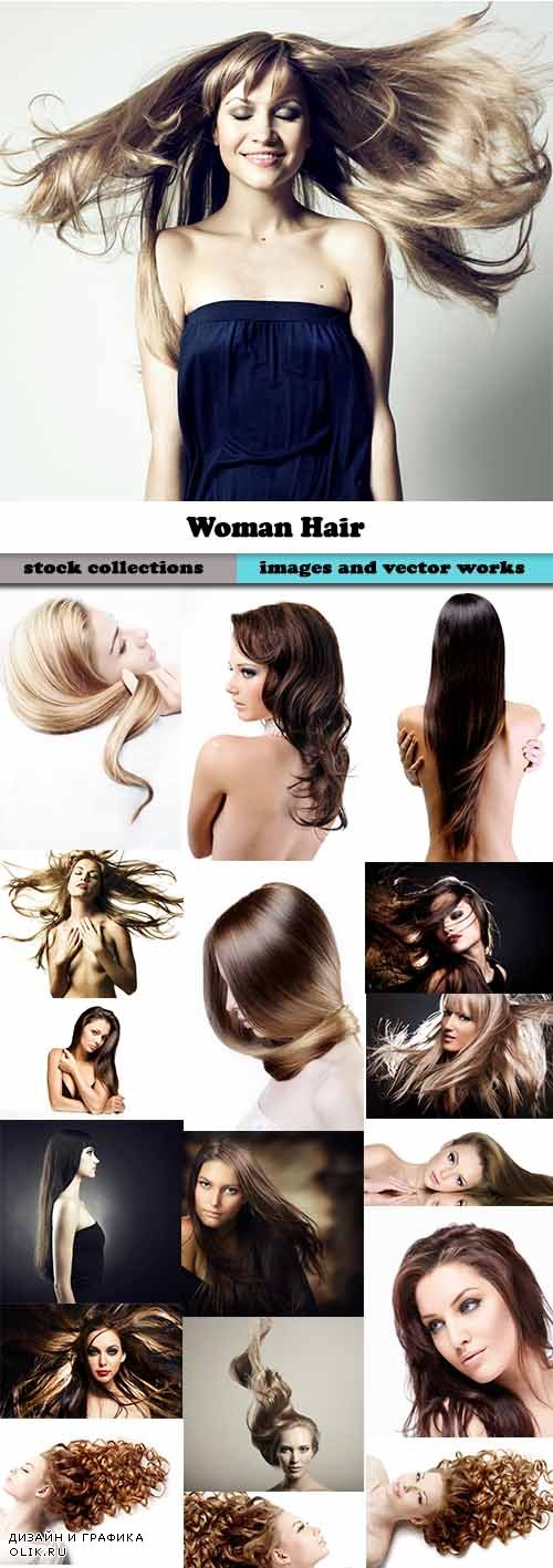 Woman Hair 25xJPGs