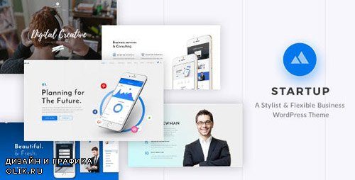 ThemeForest - StartUp v1.8 - Responsive Multi-Purpose WordPress Theme - 20101303