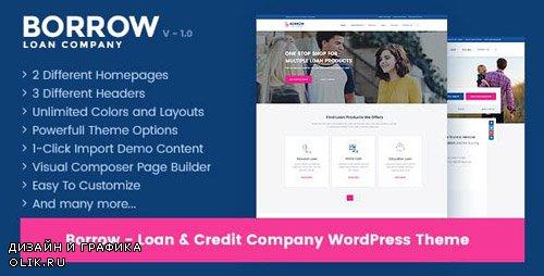 ThemeForest - Borrow v1.4.4 - Loan Company Responsive WordPress Theme - 19294811