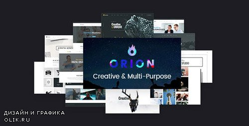 ThemeForest - Orion v1.4 - Creative Multi-Purpose WordPress Theme - 19163616