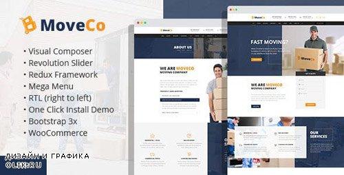 ThemeForest - MoveCo v1.4 - Logistics, Moving Company WordPress Theme - 17955886