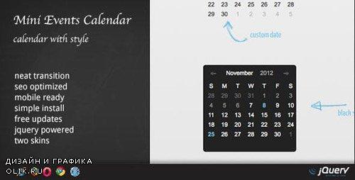 CodeCanyon - Events Calendar - WordPress Plugin DZS v1.63 - 5252525