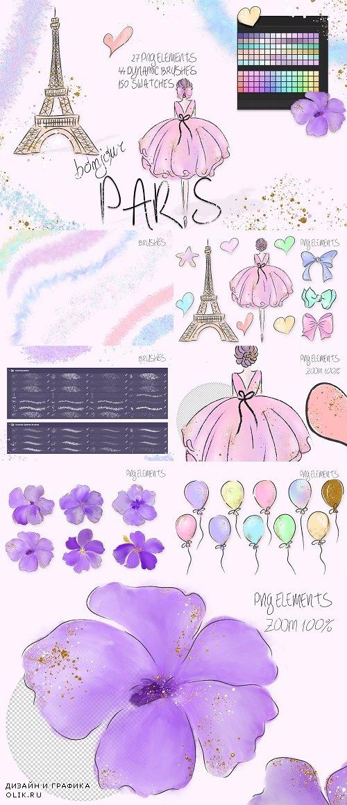 Bonjour Paris Ps Assets - 3720153