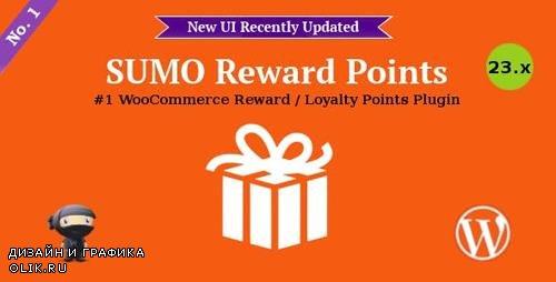 CodeCanyon - SUMO Reward Points v23.1 - WooCommerce Reward System - 7791451