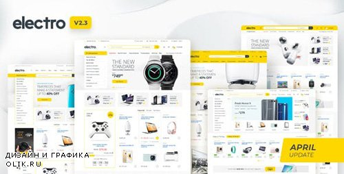 ThemeForest - Electro v2.3.3 - Electronics Store WooCommerce Theme - 15720624