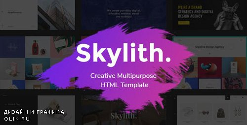 ThemeForest - Skylith v1.0.3 - Viral & Creative Multipurpose HTML Template - 21214857