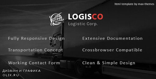 ThemeForest - Logisco v1.0 - Logistics & Transportation HTML Template - 23479389
