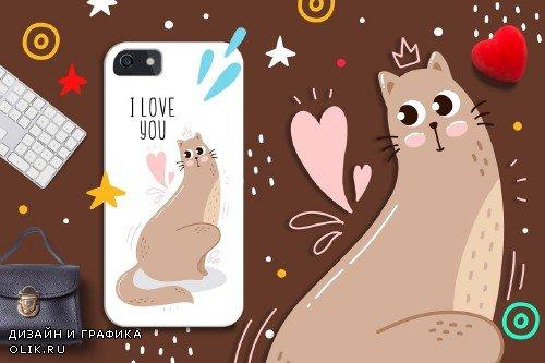 Cats Portrait Set - 3497221