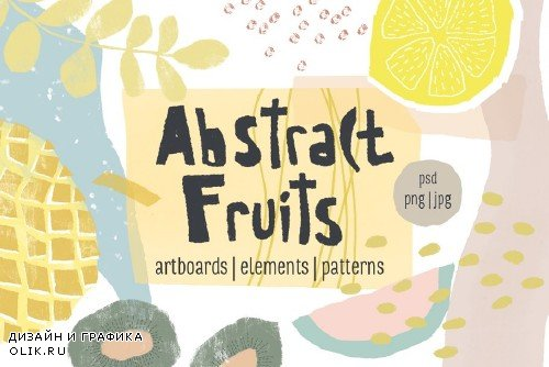 Abstract Fruits Collection - 2761756