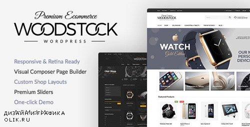 ThemeForest - Woodstock v1.9.9.5 - Electronics Responsive WooCommerce Theme - 15043746