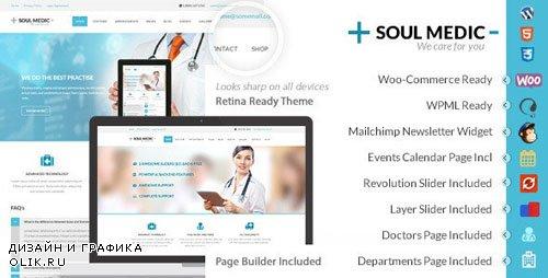 ThemeForest - SoulMedic v3.2 - Health   Medical & Health Care Theme - 6282832