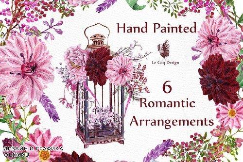 Watercolor wedding clipart - 1160533
