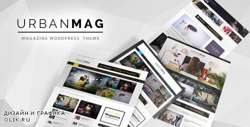 ThemeForest - Urban Mag v1.21 - News & Magazine WordPress Theme - 10265679