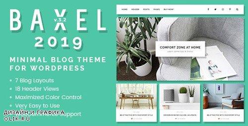 ThemeForest - Baxel v3.2.2 - Minimal Blog Theme for WordPress - 19822209