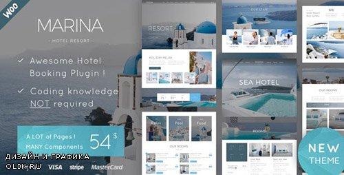 ThemeForest - Marina v1.0 - Hotel & Resort WordPress Theme - 23789327