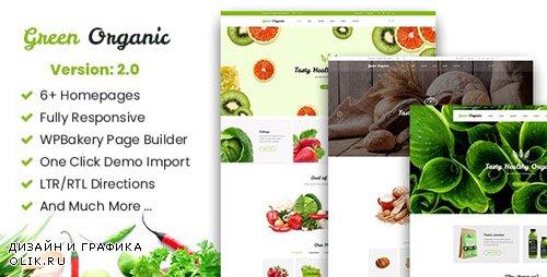 ThemeForest - Green Organic v2.7 - Organic Store & Bakery WooCommerce WordPress Theme - 20865906