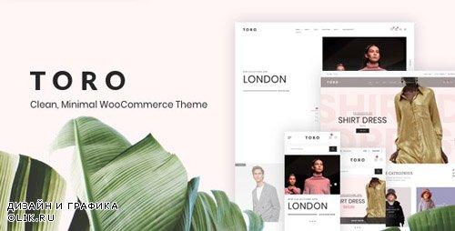 ThemeForest - Toro v1.0.5 - Clean, Minimal WooCommerce Theme - 23229072