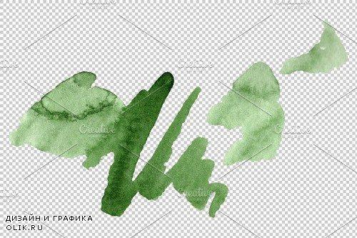 Dracena Watercolor png - 3821121