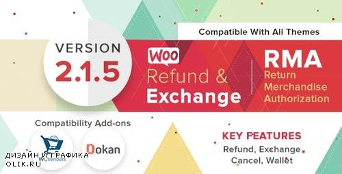 CodeCanyon - WooCommerce Refund And Exchange With RMA v2.1.5 - 17810207 - NULLED