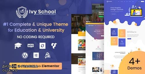 ThemeForest - Ivy School v1.3.1 - Education, University & School WordPress Theme - 22773871 - NULLED