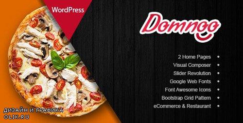ThemeForest - Domnoo v1.9 - Pizza & Restaurant WordPress Theme - 20450815