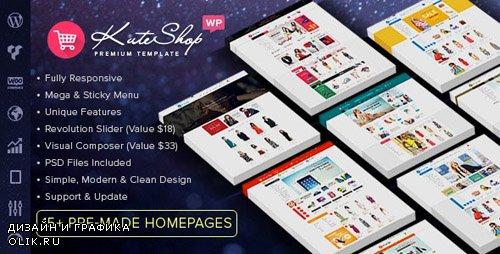 ThemeForest - KuteShop v3.3.0 - Multipurpose WooCommerce Theme - 13012521