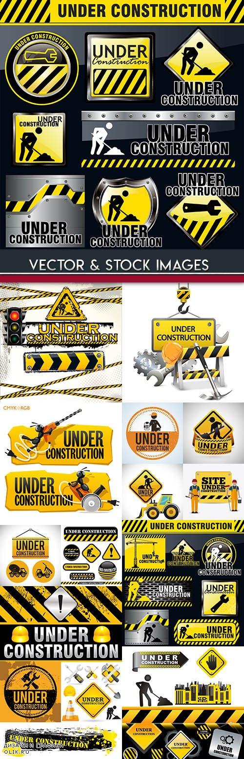 Under construction professional big collection design 15