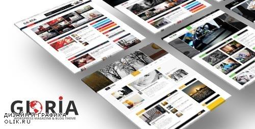 ThemeForest - Gloria v2.0 - Multiple Concepts Blog Magazine WordPress Theme - 17966960