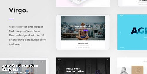 ThemeForest - Virgo. v1.1.1 - Multipurpose Multi-Concept WordPress Theme - 19461999