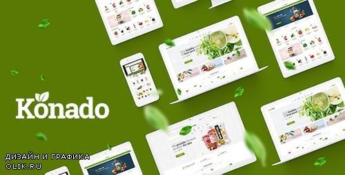 ThemeForest - Konado v1.0.4 - Organic Theme for WooCommerce WordPress - 22586145
