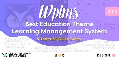 ThemeForest - WPLMS v3.9.3.1 - Learning Management System for WordPress, Education Theme - 6780226