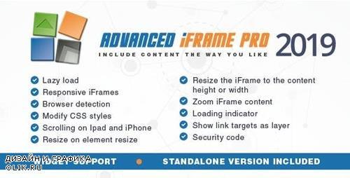 CodeCanyon - Advanced iFrame Pro v2019.4 - 5344999