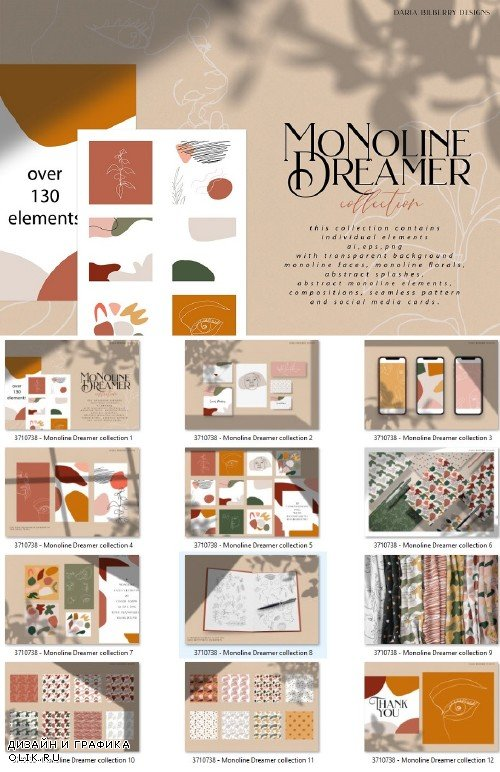Monoline Dreamer collection - 3710738