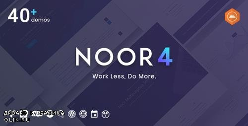 ThemeForest - Noor v4.0.3 - Multi-Purpose & Fully Customizable Creative AMP Theme - 20759600