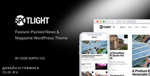 ThemeForest - Spotlight v1.5.6 - Feature-Packed News & Magazine WordPress Theme - 22560532 - NULLED