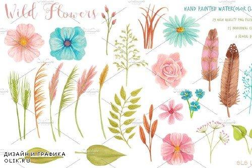 Wild Flowers Meadow Set - 409890