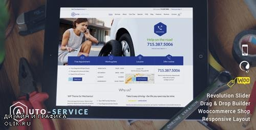 ThemeForest - Auto Repair & Car Mechanic v13 - WordPress - 9739323