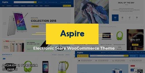 ThemeForest - Aspire v3.8 - Multipurpose Responsive WooCommerce WordPress Theme - 15350941