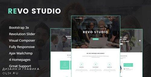 ThemeForest - Revo Studio v1.1.1 - Multipurpose WordPress Theme - 17019139