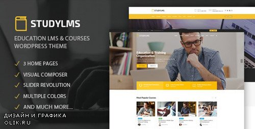 ThemeForest - Studylms v1.6 - Education LMS & Courses WordPress Theme - 20192990