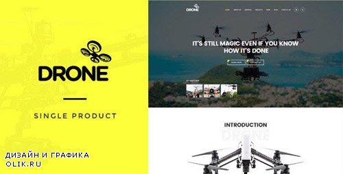 ThemeForest - Drone v1.11 - Single Product WordPress Theme - 16348804