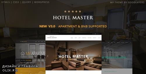 ThemeForest - Hotel WordPress Theme For Hotel Booking | Hotel Master v3.12 - 11032879