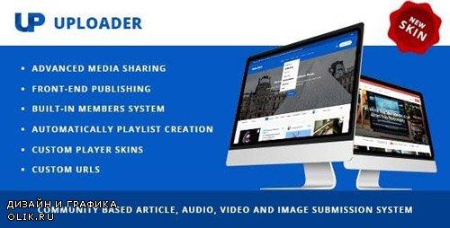 ThemeForest - Uploader v3.0.0 - Advanced Media Sharing Theme - 9760587