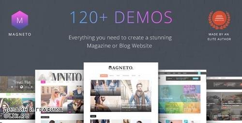 ThemeForest - Magneto v1.2 - Multi Concept Responsive WordPress Magazine and Blog Theme - 20056787
