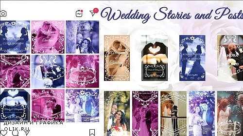 Wedding Stories and Posts 245304 - After Effects Templates