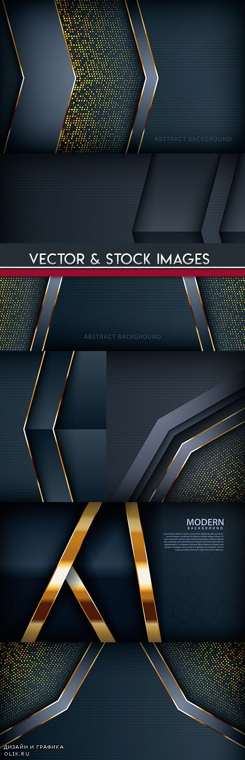 Abstract background decorative elements and effect half tone